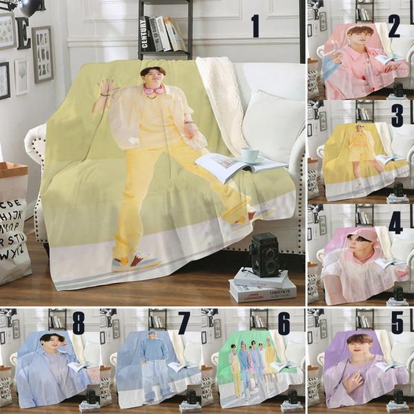 bangtanboysblanket, Fashion, btskpop, Throw Blanket