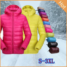 Casual Jackets, hooded, Winter, Sleeve