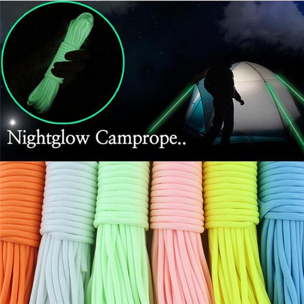forcamping, fluorescentrope, luminousrope, Outdoor