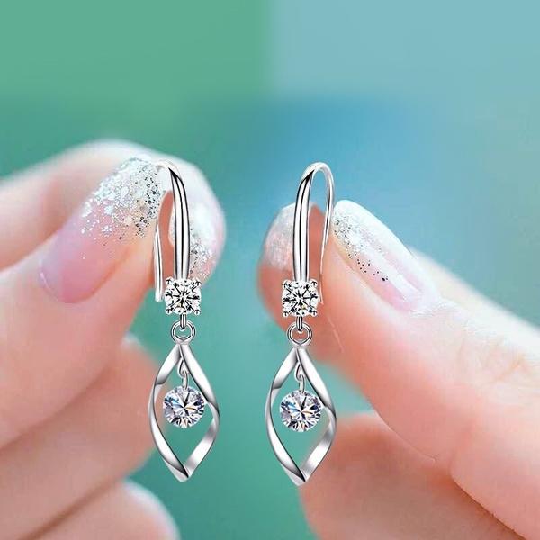 Silver Earrings, Tassels, Fashion, Dangle Earring