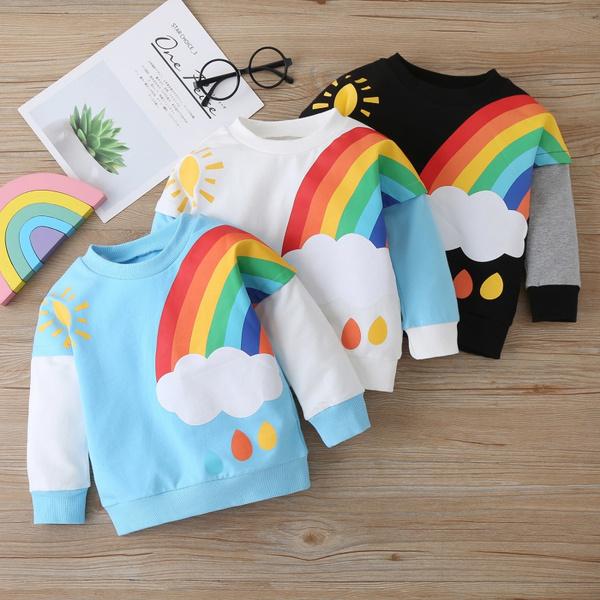 rainbow, Fleece, Fashion, Winter