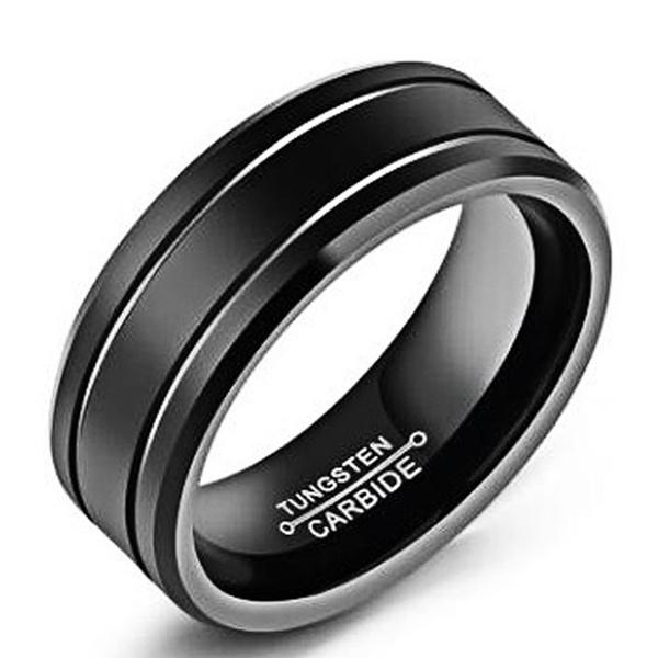 Steel, 8MM, Stainless Steel, wedding ring