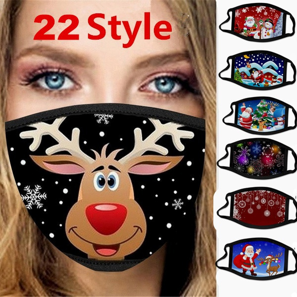 Fashion, mouthmask, Christmas, Festival