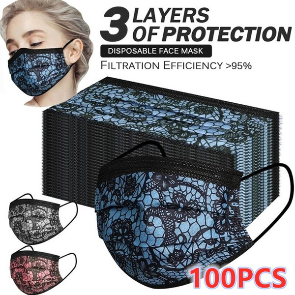 womenmask, dustmask, Lace, surgicalmask