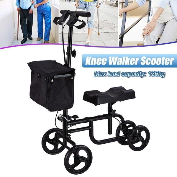 Capacity, rollingcrutche, wheelchair, kneewalkerscooter