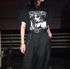 Goth, Fashion, Grunge, Shirt