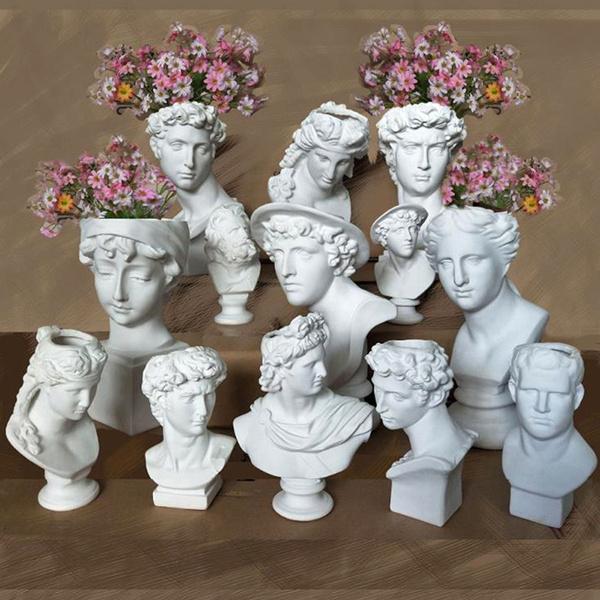 Decor, Flowers, humanhead, Home Decor
