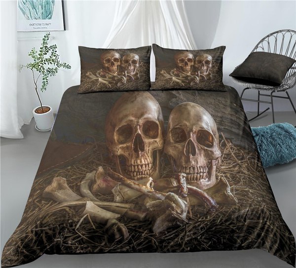 skullbedding, King, Goth, Skeleton