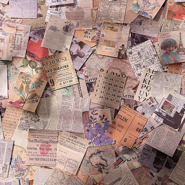 album, Scrapbooking, Vintage, Journal