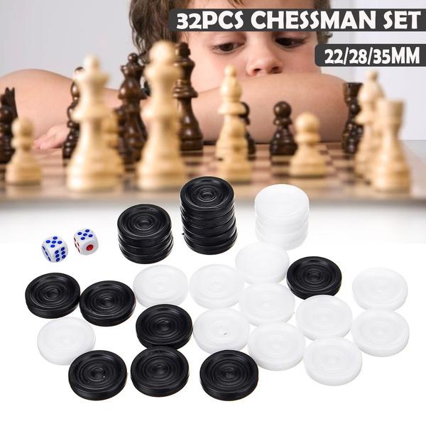 backgammonset, chesspiece, Chess, camping