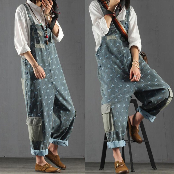 Summer, summeroverall, multiplepocket, denim overalls women