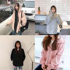 hooded sweater, ladiessweater, cardigan, loose top