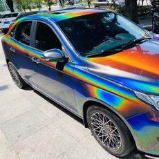 Car Sticker, rainbow, Laser, carwrapvinyl