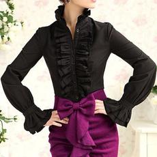 blouse, topandtshirt, ruffle, Shirt