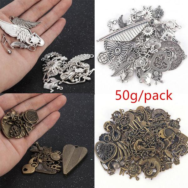 Charm Bracelet, Antique, Jewelry, tibetansilver