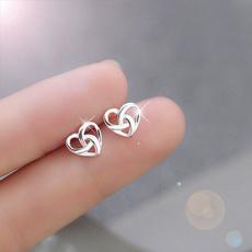 Heart, Jewelry, Earring, Stud