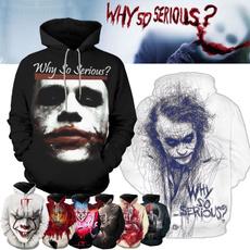 3D hoodies, hooded, pullover hoodie, King