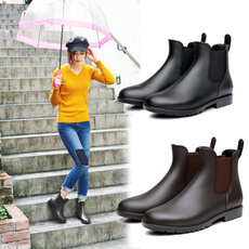 ankle boots, bootswaterproof, fashion women, rainboot