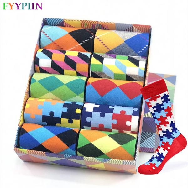 Cotton Socks, Winter, Colorful, Classics