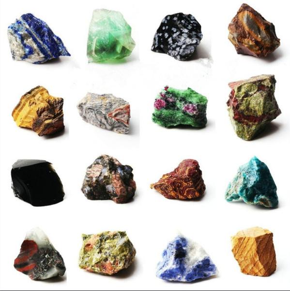 scentedstone, Natural, Minerals, whitecrystal