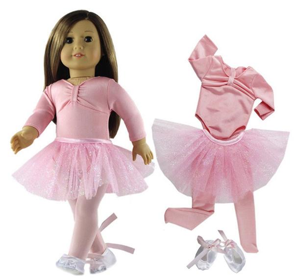 Ballet, doll, americangirldolldre, americangirldollclothe