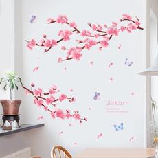 pink, wallstickersampmural, Decor, Wall Art
