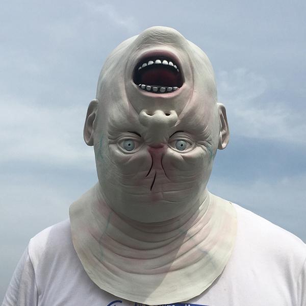 Head, alienswithinvertedhead, Cosplay, aliensheadgear