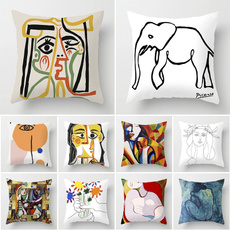 case, Polyester, art, Cushions