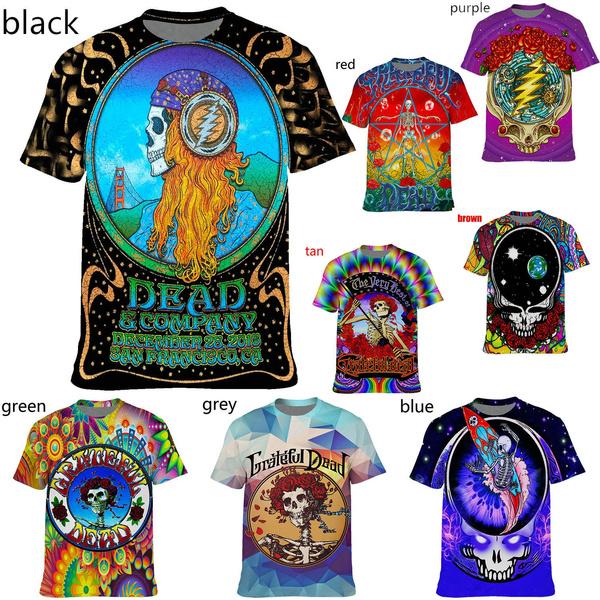 gratefuldeadshirt, Tees & T-Shirts, music3dtshirt, fashion3dtshirt