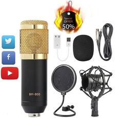 Microphone, microphoneforcomputer, recordingmicrophone, condensermicrophone
