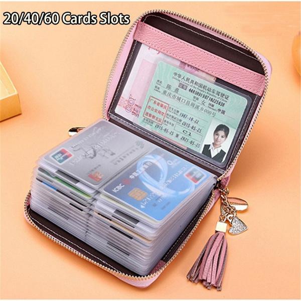 kpopfashion, leather purse, card holder, leather