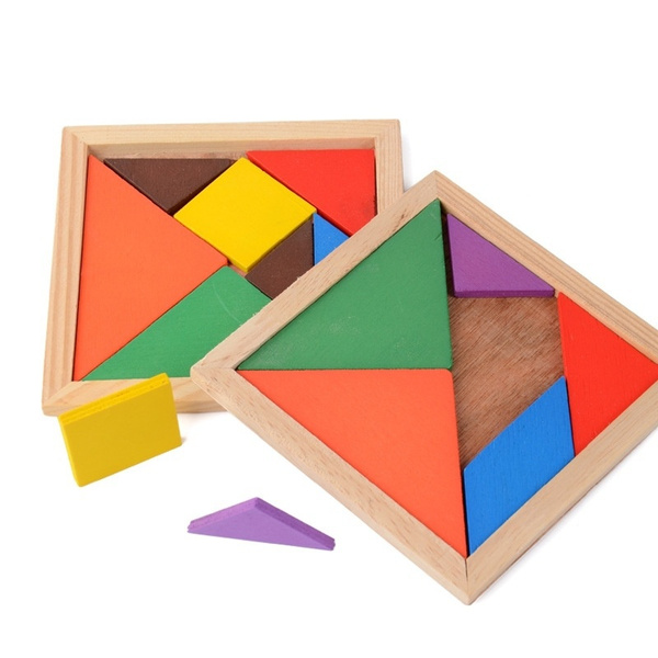 tangram, Colorful, toygame, Children's Toys