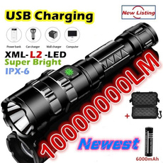 Flashlight, Exterior, led, usb