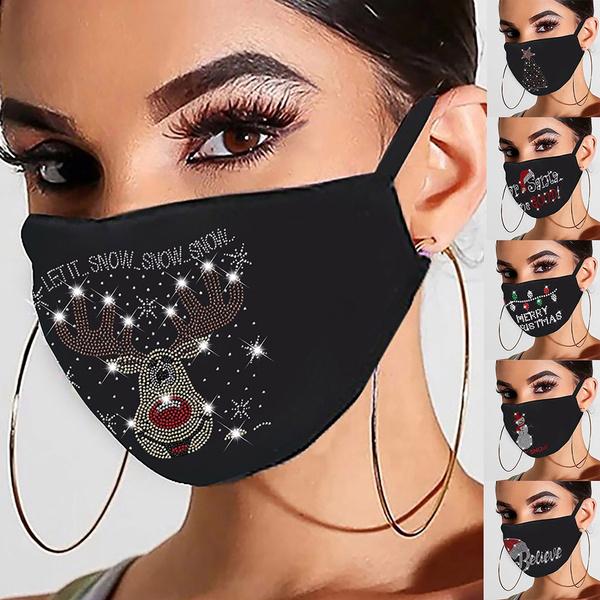 earloopmask, Fashion, blackmask, Christmas