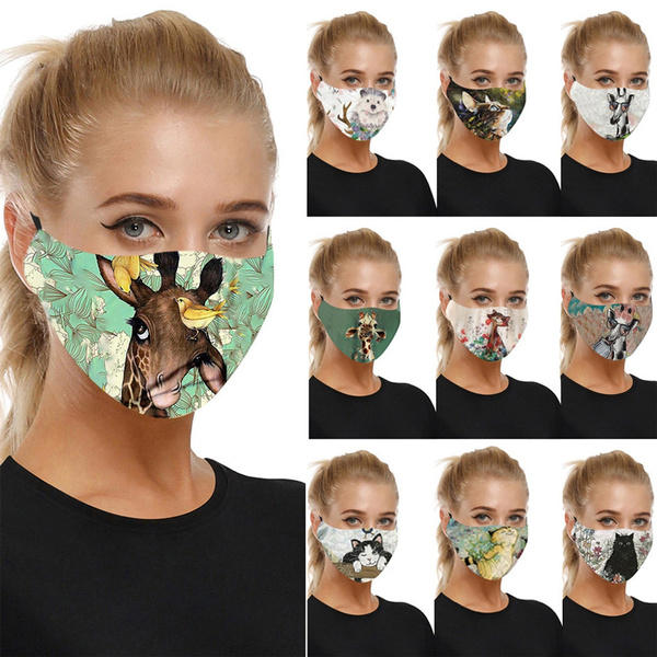 Cotton, Outdoor, mouthmask, Christmas