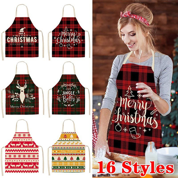 christmasdecorationsforhome, apron, Kitchen & Dining, Christmas