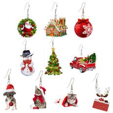Funny, Christmas, funnyearring, Stud Earring