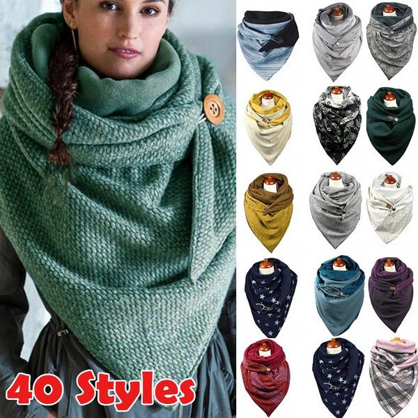 ladiesshawl, ladiessimpleandversatilescarf, Fashion, ladieswinterfashionscarf