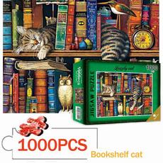toysforadultswomen, Puzzle, Jigsaw, gato