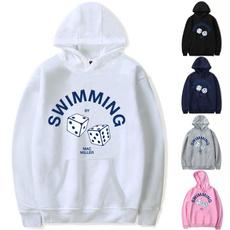 Hip Hop, Men's Hoodies & Sweatshirts, Swimming, Apple