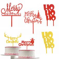 acryliccakeflag, lettercaketopper, merrychristmasdecoration, kidsfavor