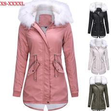 Algodón, Collar, cottonjacket, fur