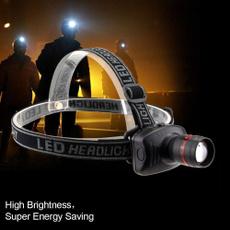 Flashlight, campingheadlight, Head, Outdoor