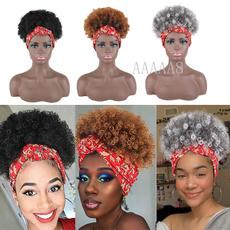 wig, Head, Head Bands, shortafrowig