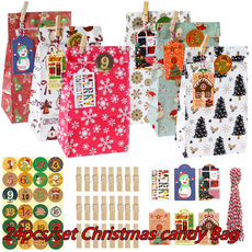 decoration, adventcalendarbag, Holiday, Christmas