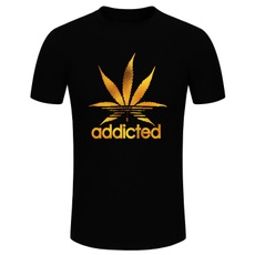 Funny, Funny T Shirt, leaf, Cotton T Shirt