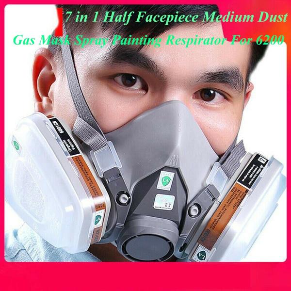 antigasmask, respiratormask, Medium, dustmask