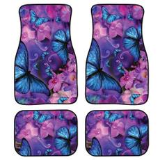 butterfly, Car Accessories, carinterioraccessorie, Floor Mats
