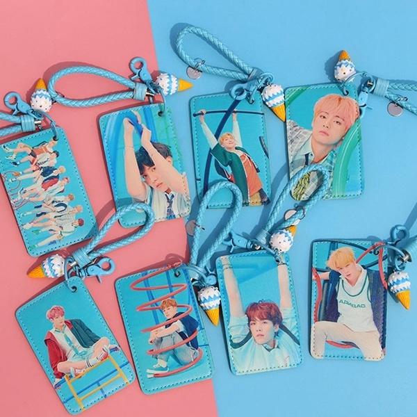 K-Pop, btsbuscardholder, Key Chain, Jewelry