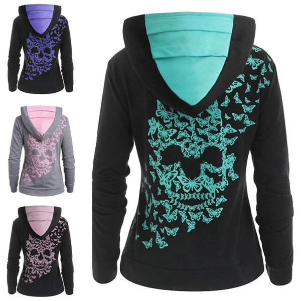 butterflyprint, butterfly, hooded, Winter